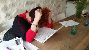 Als schrijven niet lukt