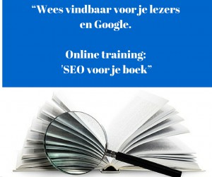 Online training Seo Boek