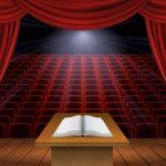Een boek schrijven is een stap naar het podium