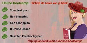 Online bootcamp Schrijf de basis van je boek