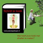 Wat een boek schrijven te maken heeft met afvallen