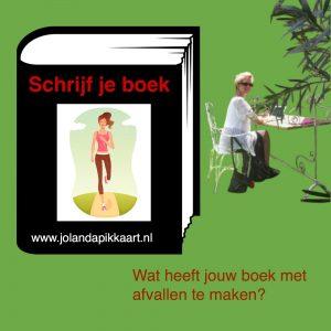 Afvallen en schrijven van je boek?