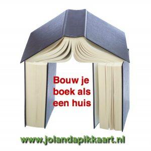 Boek schrijven als een huis