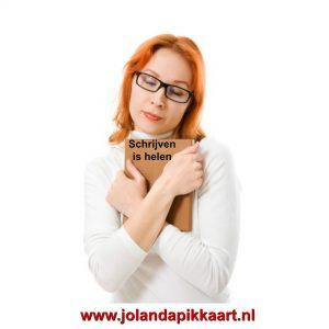 Schrijven is helen Jolanda Pikkaart
