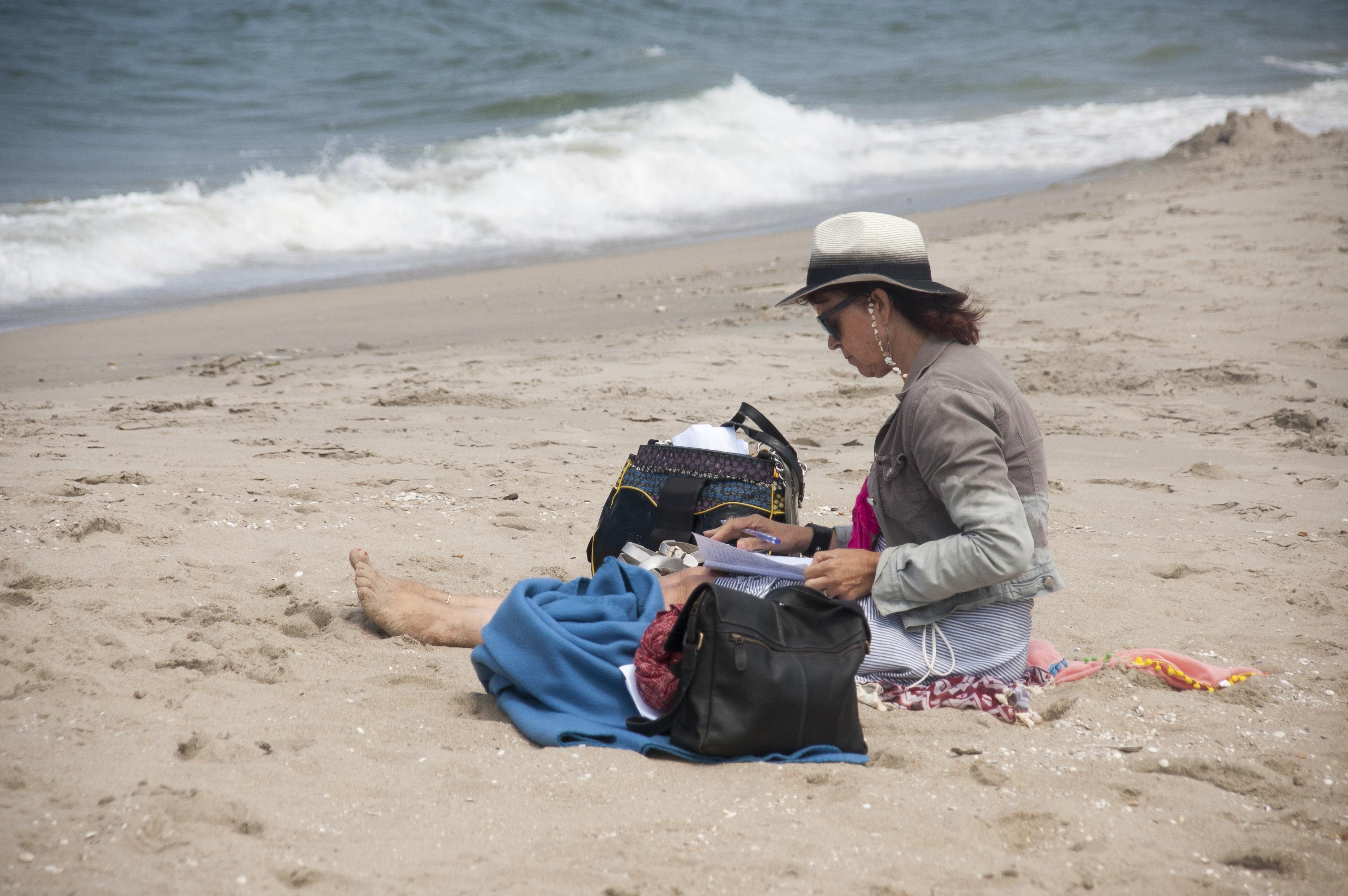 Schrijven aan zee Jolanda Pikkaart
